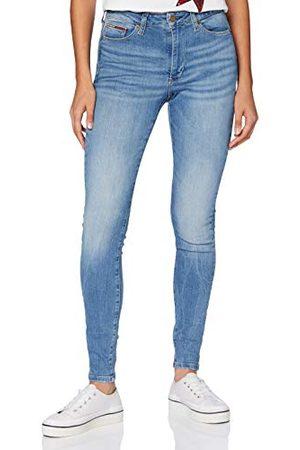 Tommy Hilfiger Sylvia Hr Super Skinny Vctl Straight Jeans voor dames