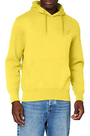 Superdry Heren Collective Hood Br Sweater, Nautical Yellow, XL
