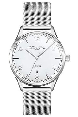 Thomas Sabo Dames analoog kwarts horloge met roestvrij stalen armband WA0360-201-202-36 mm