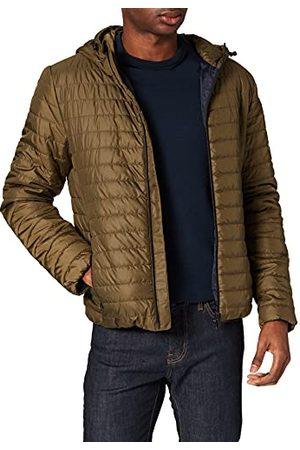 Geox Heren Laarzen - M Wilmer Hood Jkt polyester Down Coat