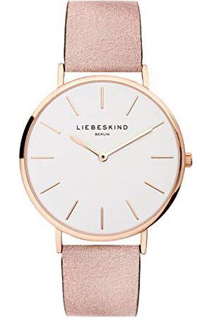 liebeskind LT-0157-LQ Dames Horloge, 38mm, Rosé