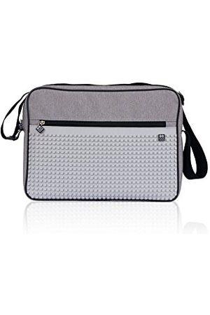 Pixie Dixie Dames Handtassen - Messenger Bag Pxb-03 lichtgrijs