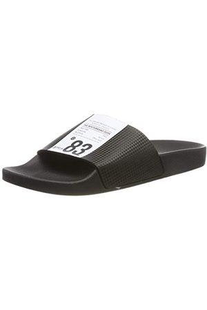 THE WHITE BRAND Heren Sandalen - Label heren sandalen met open punt
