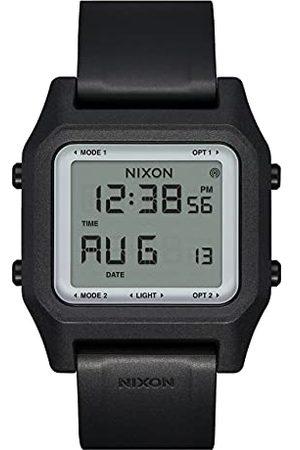 Nixon Heren Armbanden - Digitaal LCD-digitaal modulehorloge met siliconen armband A1309867-00