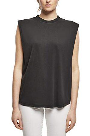 Urban classics Dames Ladies Modal Padded Shoulder Tank T-Shirt