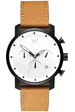 MVMT Herenhorloge met chronograaf en kwartshorloge met lederen