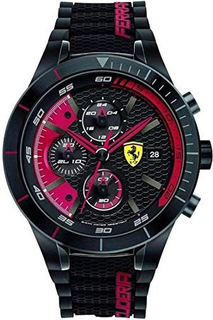 Scuderia Ferrari Heren Horloges - Heren Quartz horloge, analoge klassieke display en siliconen band 0830260