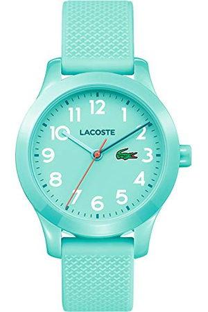 Lacoste Dames Horloges - Unisex Unisex datum klassiek kwarts horloge met siliconen armband 2030005