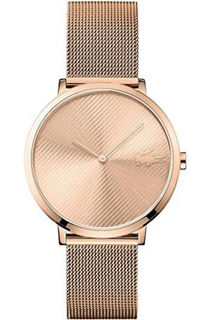 Lacoste Dames Horloges - Unisex analoog kwarts horloge met roestvrij stalen armband 2001028