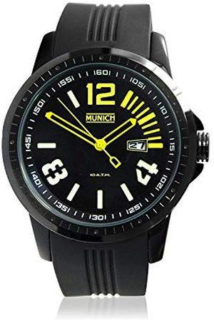 Munich Dames Horloges - Münchner Unisex volwassene kwartshorloge met siliconen band MU+103.9A
