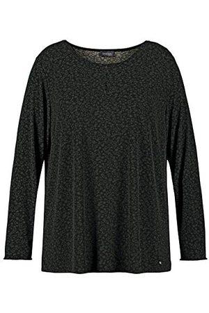 Samoon Dames Lange mouw - Damesshirt met lange