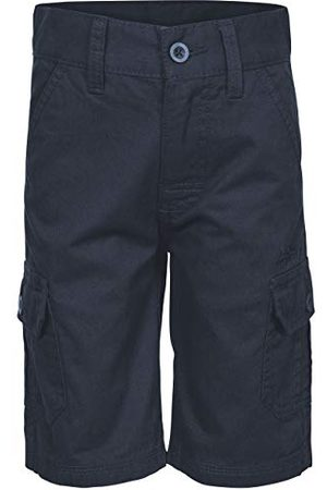 Trespass Boy's 5045274733808 Cargo Shorts, Azul Marino, 7-8 jaar