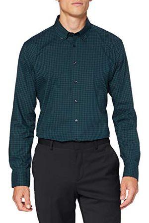 Seidensticker Heren Lange mouw - Zakelijk overhemd voor heren, strijkvrij overhemd met zeer smalle snit, X-Slim Fit, lange mouwen, B.D.-kraag, 100% katoen