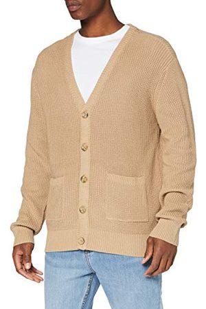 Urban classics Heren Boxy Cardigan Sweatshirts