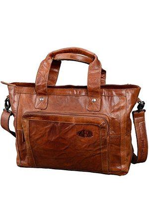 Pride and Soul Lady's Business Bag Heather Heartbreaker Sporttas, 39 cm, 18 L, Cognac
