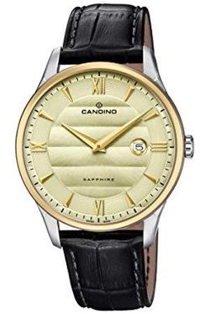 Candino Heren Analoog Klassiek Quartz Horloge met Lederen Band C4640/2