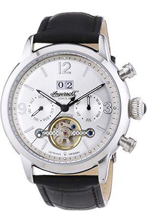 INGERSOLL 1892 Heren Horloges - Herenhorloge XL Belle Star chronograaf automatisch leer IN1826SL