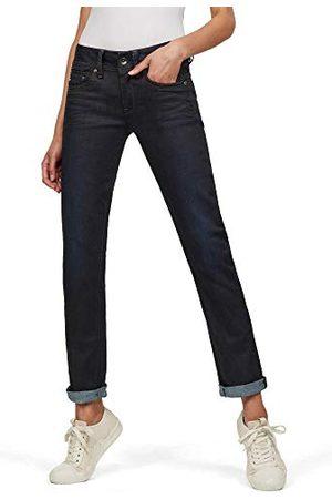 G-Star Vrouwen Midge Zadel Midden Taille Rechte Jeans