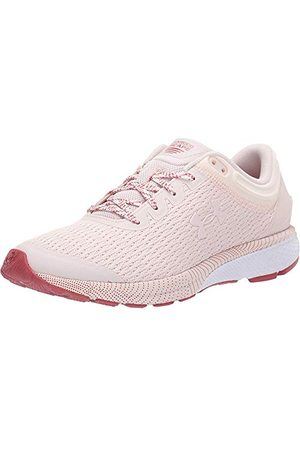 Under Armour Women's Charged Escape 3 Running Shoes, Pink Apex Pink Fractal Pink Apex Pink 800, 4.5 UK