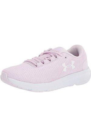 Under Armour Women's W Charged Pursuit 2 Twist Running Shoe, Crystal Lilac White White 503, 5.5 UK