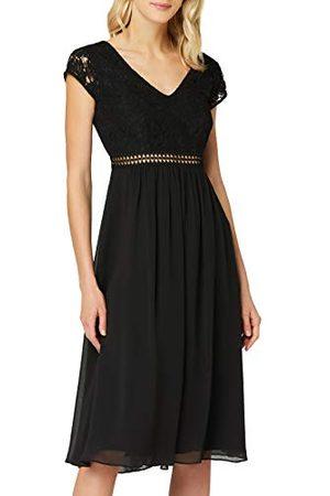 TRUTH & FABLE Dames Midi Chiffon A-lijn jurk, , 16, Label:XL