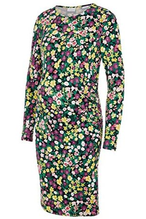 Mama Licious Dames Mlamine L/S Jersey Abk Dress AOP A. Jurk