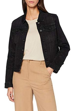Desigual Chaq_Black Blinder denim Jacket voor dames