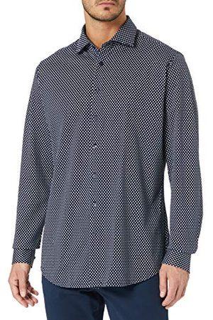 Seidensticker Zijdesticker heren Shaped Fit lange mouwen Jersey hemd