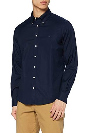 Brooks Brothers Hemd Sport No Iron Pinpoint stretch kraag polo button down Milano Fit eenkleurig met logo casual heren