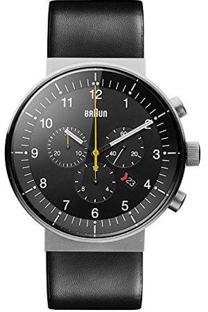 von Braun BN0095SLG Herenhorloge, analoog kwartshorloge met leren armband