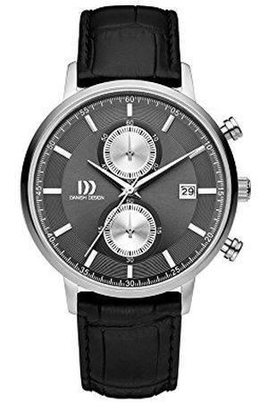 Danish Design IQ14Q1215 Analoog kwartshorloge voor heren, met lederen armband