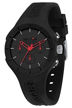 Sector No Limits R3251514013 Analoog kwartshorloge voor heren, met siliconen armband