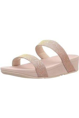 FitFlop Lottie glittery slide, open teenslippers, dames