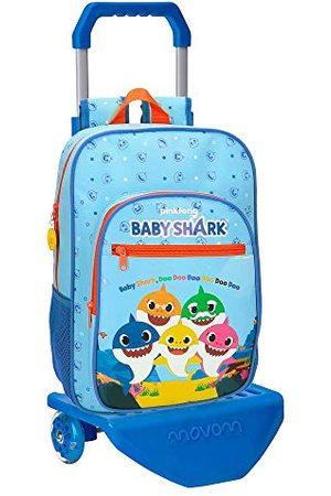 Baby Shark Schoolrugzak 38 cm met trolley