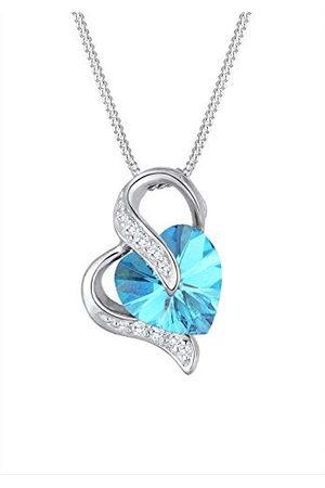 Elli Dames. 925 Zilver Brillantschliff kristal