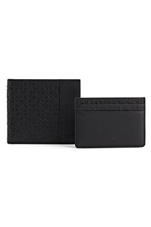 HUGO BOSS BOSS GBBM 8cc S c emboss cadeauset met portemonnee en kaartenetui van reliëf leer, 1, ONESI