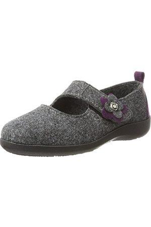 Fargeot TATOO Dames Pantoffels, antraciet, 36 EU