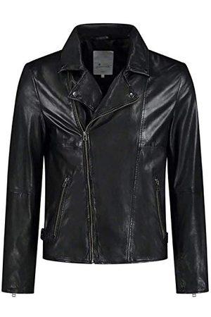 GOOSECRAFT Mens GC Berliner Biker Leather Jacket, , Extra Large
