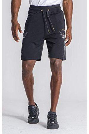 Gianni Kavanagh Black Roses Bloom Shorts voor heren.