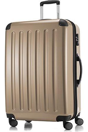 Hauptstadtkoffer Alex - harde koffer met 4 dubbele wielen, trolleykoffer, uitbreidbare reiskoffer, TSA, 75 cm, 119 liter, champagne