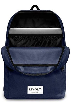 Livolt Blue Depth rugzak, unisex, volwassenen, blauw, 30 l