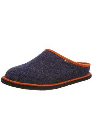 Fargeot SUPER Uniseks - Volwassenen Pantoffels, marineblauw, 45 EU