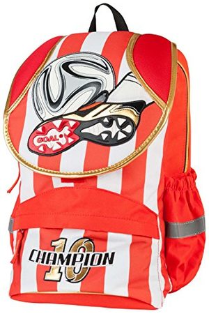 TARGET St-01 Football Red Lines kinderrugzak, 40 cm, 11 liter, (Nero)