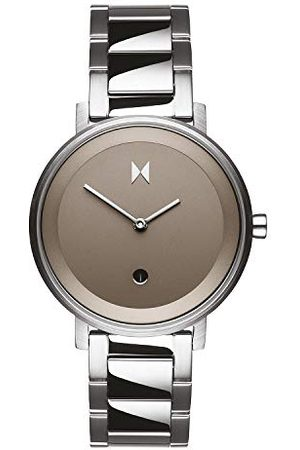 MVMT Dames analoog kwarts horloge met roestvrij stalen armband D-MF02-S