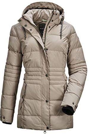 G.I.G.A. DX by killtec Ventoso Wmn Quilted Jckt A Casual functionele jas in dons-look met afritsbare capuchon