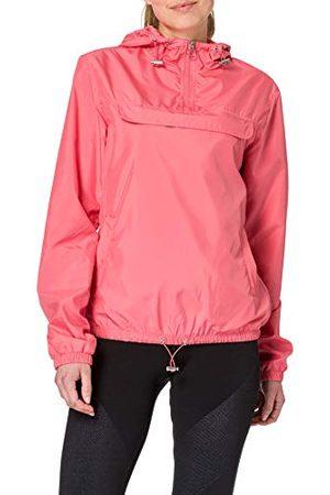 Urban classics Windbreaker Dames Basic Pullover Jas, Vrouwen Windrunner om over te trekken in vele kleuren, maten XS - 5XL