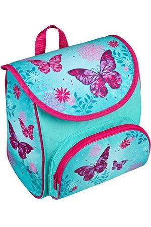 SCOOLI Kleuterschooltas Cutie met klittenbandsluiting en borstband, Butterfly, ergonomisch, licht, ca. 5 liter