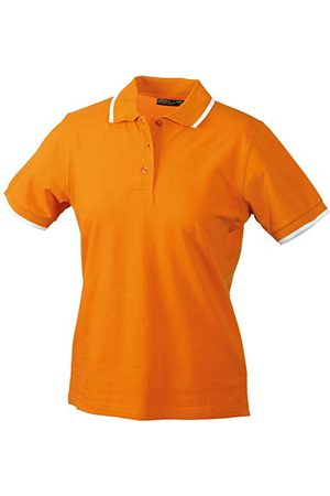 James & Nicholson Ladies Polo Tipping Poloshirt voor dames