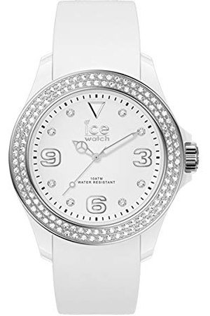 Ice-Watch ICE star White silver - dameshorloge met siliconen armband - 017231 (Maat M)