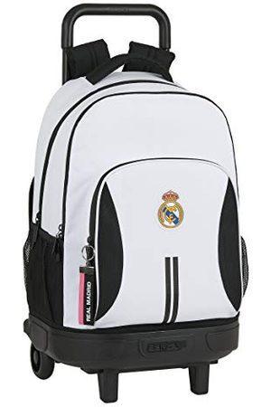Safta Schoolrugzak met trolley en gevoerde rug van Real Madrid, 330 x 220 x 450 mm